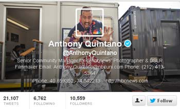 Come impostare il profilo per aumentare i follower Twitter